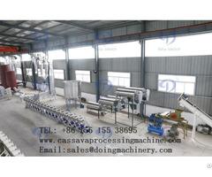 Cassava Starch Processing Operation