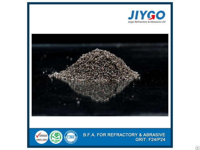 Jiygo Refractories Brick Raw Materials Brown Corundum Fraction
