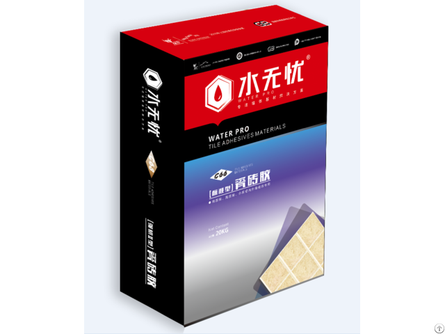 Tile Adhesive For Wall And Floor
