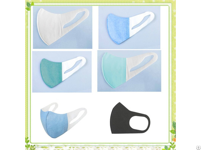 New Design 3d Butterfly Shape Non Woven Face Mask With Printing
