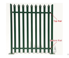 Palisade Fencing Rail