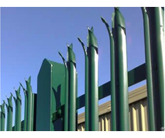 High Security Palisade Fencing
