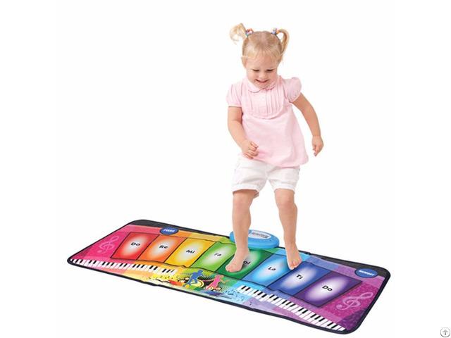 Rainbow Piano Play Mat