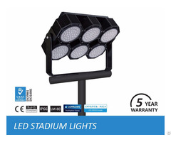 Led Stadium Lights Fixtures In Football Field, Sport Field Lighting