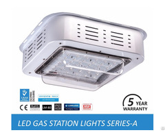 Outdoor Led Gas Station Lights For Commercial, Industrial Lighting