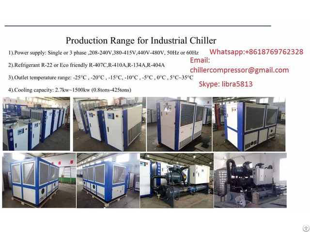 Industrial Water Chiller 2kw To 1500kw
