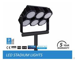 Led Stadium Lights Fixtures In Football Field, Sport Field Lighting