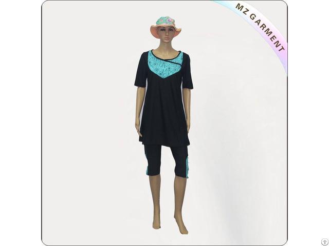 Semi Covered Muslim Swimwear