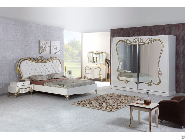 Modern luxury unique 2017 bedroom set istanbul eceurope - Bedroom furniture made in turkey ...