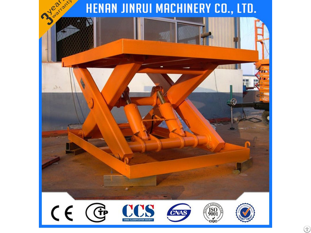 Stationary Lift Platform Table 1 Ton Price