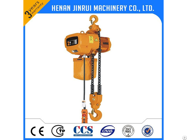 Fixed Mobile Chain Hoist 1 2 5 Ton Used With Crane China