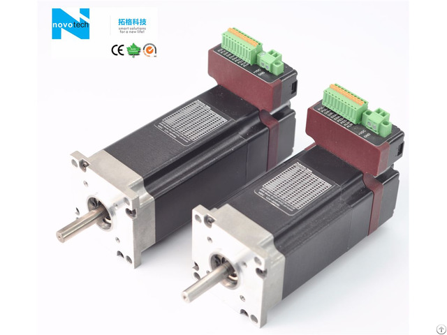 Integrated Brushless Servo System With Driver Built In