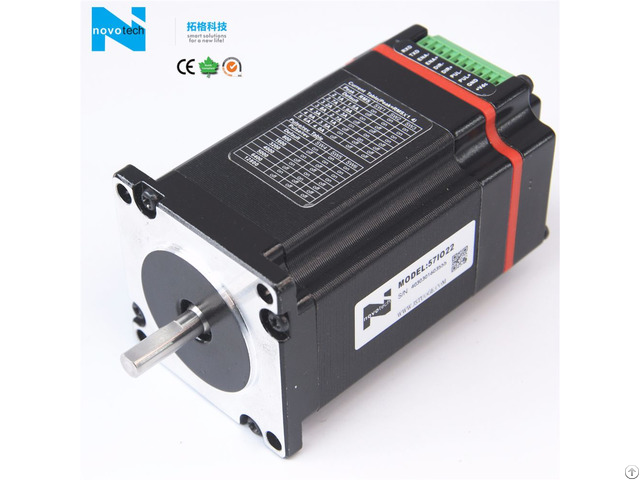Integrated Open Loop Stepper Motor And Driver System