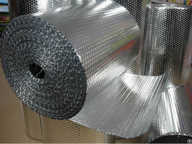 Reflective Aluminum Foil Bubble Insulation Material For Building Construction