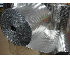 Reflective Aluminum Foil Bubble Insulation Material For Building Construction