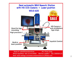 Infrared Bga Solder And Desolder Station Wds 620 For Chipset Repair Original Factory Shenzhen