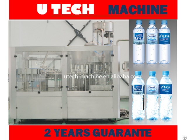 Automatic Small Bottled Mineral Water Filling Machine