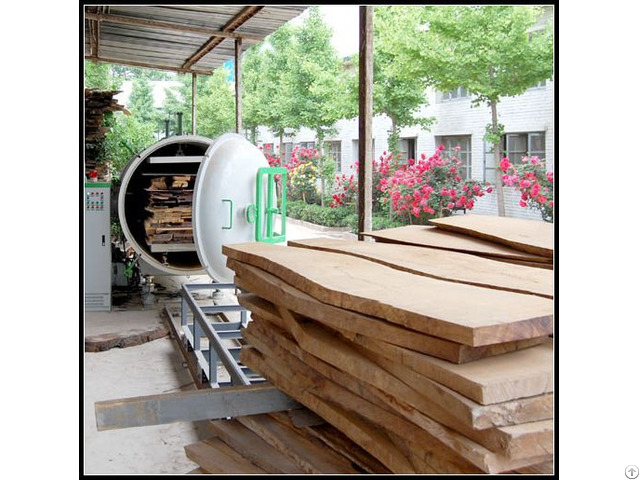High Frequency Vacuum Wood Drying Machines 3cbm 13cbm