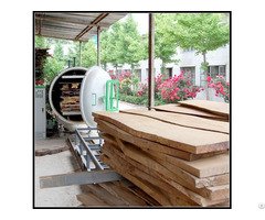 High Frequency Vacuum Wood Drying Machines 3cbm 13cbm
