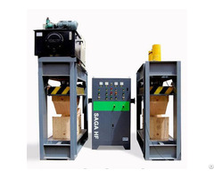 High Frequency Plywood Veneer Wood Curved Bending Press Machine 80t 150t