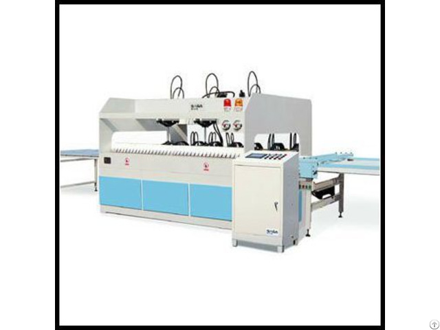High Frequency Wood Board Finger Jointer Combination Machine 1220 2440mm
