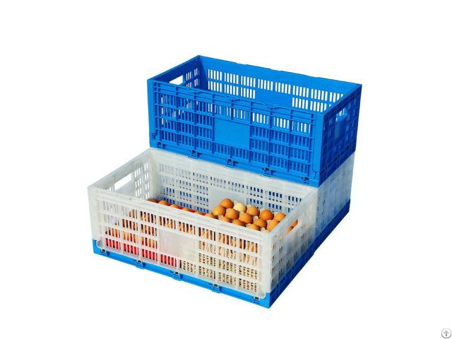 New Design Foldable Plastic Egg Crates