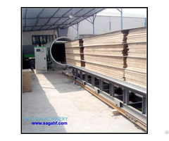 High Frequency Timber Seasoning Plants With Vacuum Condition 3cbm 13cbm