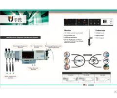New Patent Multi Function Wall Mounted Diagnosis System With Endoscope