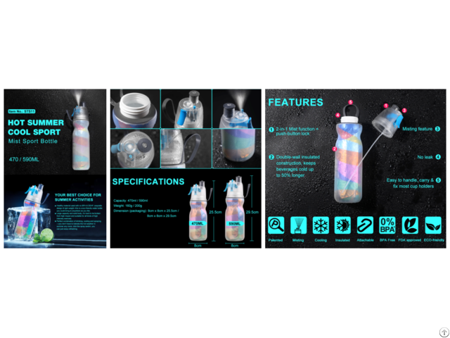 Sts11 Mist Sport Bottle