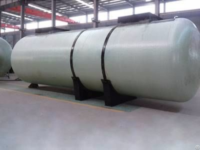 Double Wall Frp Oil Storage Tank