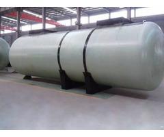 Double Wall Frp Oil Storage Tank