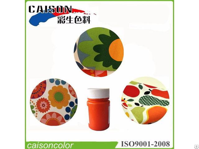 Textile Printing Pigment Paste Manufacturer