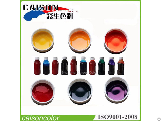 Spokesman For Caison Pigment Paste