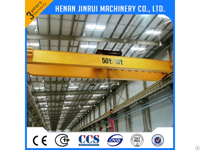 Qd Double Beam Bridge Crane 20 Ton Good Price