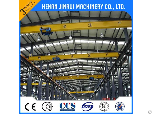 European Single Beam Bridge Crane Manufacturer Facotry