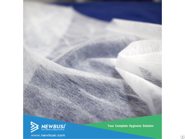 Breathable Hydrophilic Hot Air Through Nonwoven For Baby Diaper