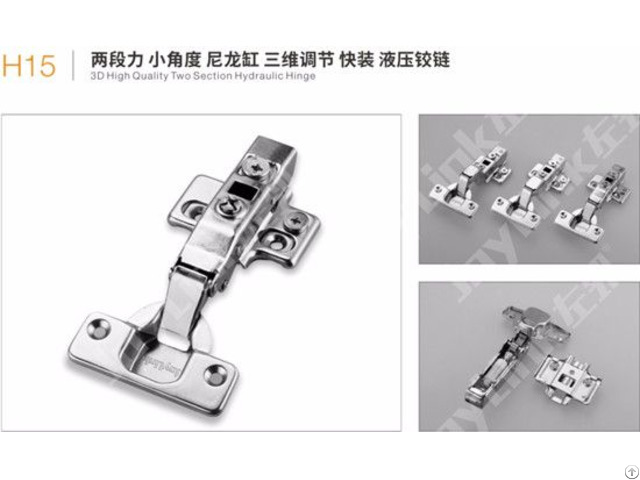 Two Way 3d Snap On Cabinet Hinge H15