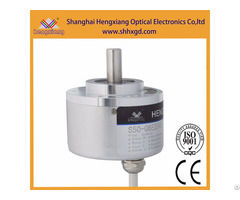 Hengxiang Incremental Rotary Encoder Diameter 50mm Solid Shaft 8mm 23040 Pulse