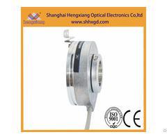 Hengxiang Popular Hollow Shaft Encoder With External Diameter 76mm Through Hole 30mm Keyway