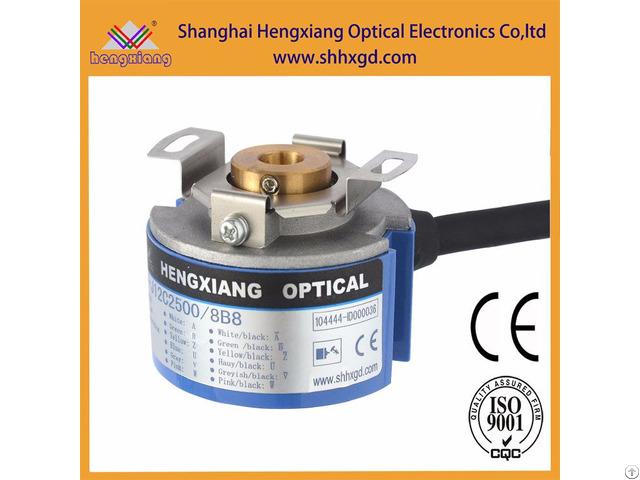 Hengxiang Servo Motor Encoder 12 Phase 2500ppr 8 Poles Diameter 48mm