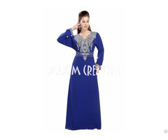 Dubai Kaftan With Bling Embroidery For Women Only