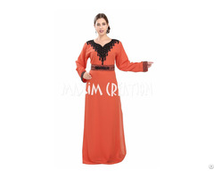 Fancy Dubai Kaftan With New Embroidery For Women Only