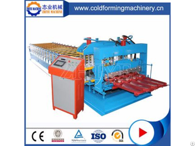 High Quality Zinc Glazed Tile Machine Zhiye