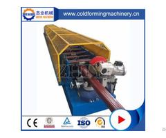 High Technology Colored Steel Raining Water Downpipe Rolling Machine