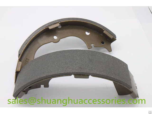 Brake Shoes For Hiace Auto Car Non Asbestos Iso9001 2008
