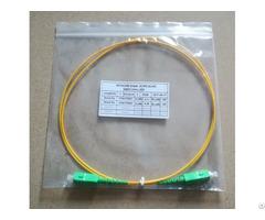 Ftth Solution Pacth Cord 2xsc Apc G652d 2 0mmx1m Fiber Optical Patchcord Manufacturer