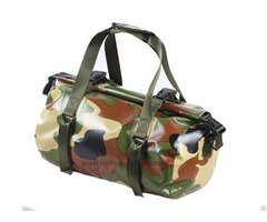 Travel Sport Outdoor Camouflage Pvc Mesh Duffel Bags For Women Men