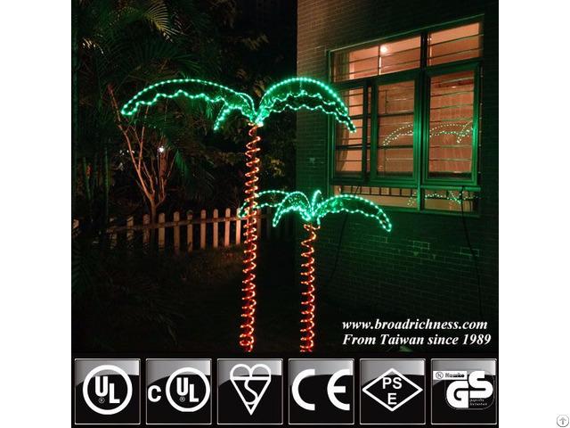 7ft Led Rope Light Palm Tree