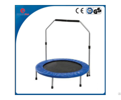 Createfun 50 Inch Sporting Mini Trampoline With Handle