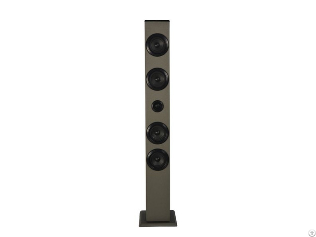 No 1 Selling Low Cost Wooden Bluetooth Tower Speaker With Excellent Sound